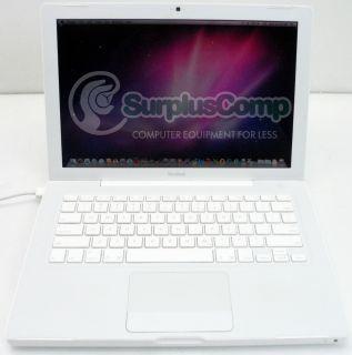 Apple MacBook 13 3 Laptop Intel Core 2 Duo 2 16 GHz 2 GB RAM 120 GB