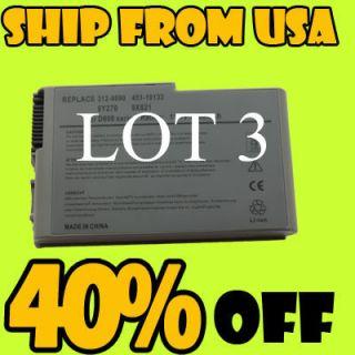Laptop Battery for Dell Latitude D610 D600 D520 D500 D530 WHOLESALE