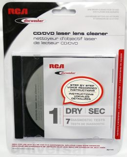 Discwasher RD1141 DVD CD Game Disc Laser Lens Cleaner