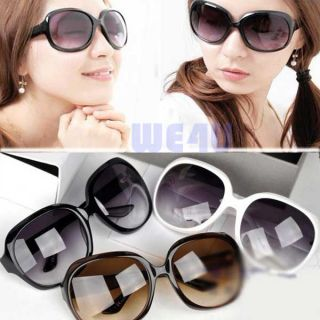 Fashion Sunglasses Stylish Large Plastic Frame Cool Glasses