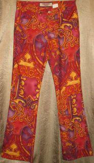 Authentic Paris Blues Original Size 7 Jr Fun Fashion 5 Pockets New w O