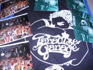 Paradise Garage Memorabelia Postcards Free T Shirt Larry Levan