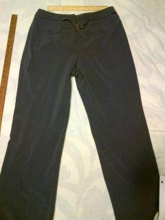 Larry Levine Stretch Gray Dress Pants Size 12P