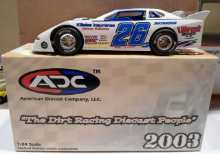 ADC 1 24 Dirt Late Model Race Car 26 Auto Racing Littruck Serv