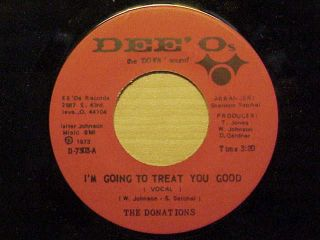 Killer Sweet Soul 45 The Donations L K Listen