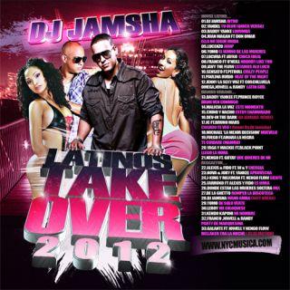 DJ Jamsha Latin Takeover 2012 Mambo Reggaeton Latin Pop