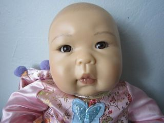 18  Ashton Drake Ping Lau Oriental Asian Baby Doll Girl