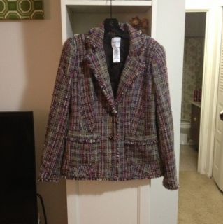 Kate Hill Tweed Blazer