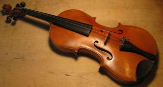 Antique vintage German violin labeled Laurentius Storioni fecit