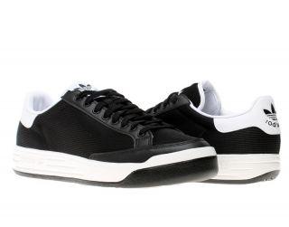 Adidas Originals Rod Laver Black White Mens Tennis Shoes G47881