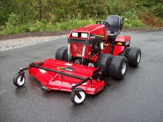 STEINER 430 MAX 4X4 72 ROTARY DECK BLOWER TURF LAWN MOWER GOLF COURSES