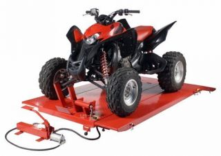 LB Air Hydraulic Lift Hoist Jack Motorcycle Lawn Mower ATV Tractor XUV