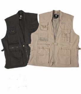 Law Enforcement Plainclothes Black Concealed Carry Vests 2XL