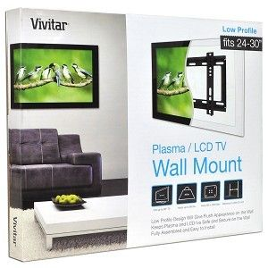 Vivitar 24 30 LCD Monitor Flat Panel TV Wall Mount Bracket New