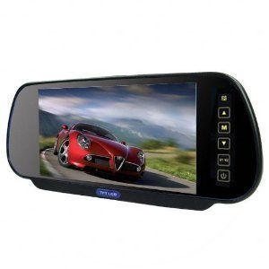Inch 16 9 TFT LCD Widescreen Car Rearview Monitor Mirror with Touch