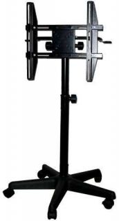Flat Screen LCD TV Monitor 5 Point Wheel Stand for Up to 32 Screens