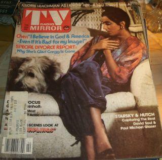 TV Radio Mirror February 1976 Cher Soap Opera Leachman