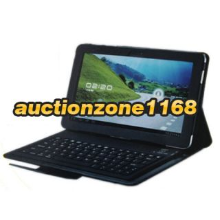 Leather Bluetooth Keyboard Case for Samsung Galaxy Tab 10 1 P7510 7500