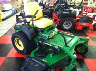 John Deere Zero Turn Riding Lawn Mower Ztrack