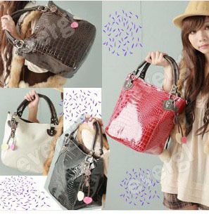 Hot New Fashion PU Leather Purses Handbags Totes Hobo Shoulder Bag