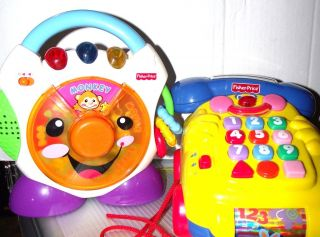Fisher Price Working Learning Tool Toys Radio Phone