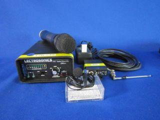 Lectrosonics VHF Wireless Microphone Kit FV 6 Used