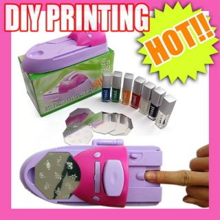 DIY Printing Nail Art Stamper Kit Printer Machine S050