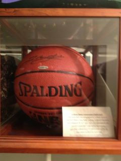 Lebron James Autographed Basketball