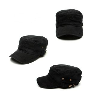City Hunter Lee MIN HO Style Vintage Military Cap Hat