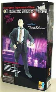 Action Figures US Department of State DSS Special Agent, Patrick NIB