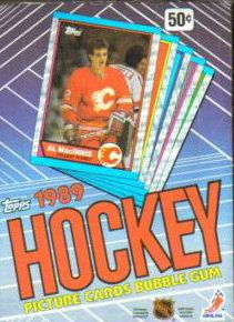 1989 Topps Hockey Wax Box 36 Packs Poss Sakic Leetch RC