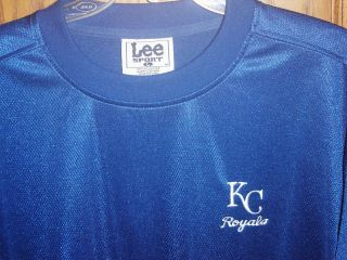 Vtg Lee Sports Kansas City Royals MLB Shirt Jersey Throwback L M
