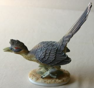 Lefton China Hand Painted Road Runner Figurine Numbered