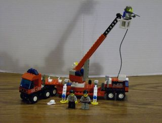 Lego 6477 Town Fire Engine Truck w Instructions