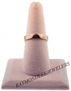 Cartier 18K Rose Gold Happy Birthday Ring