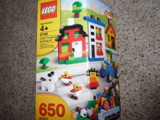 Lego 5749 Creative Building Kit 650 pieces Huge Starter set Ships