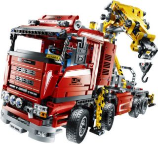 Lego Technic Motorized Crane Truck 8258 Set 1877pcs New