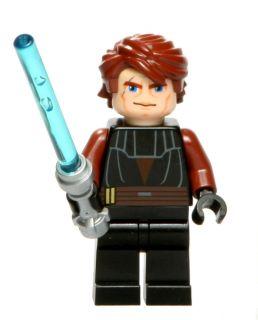 Lego 7931 Star Wars Clone Wars Anakin Skywalker Minifig Minifigure w
