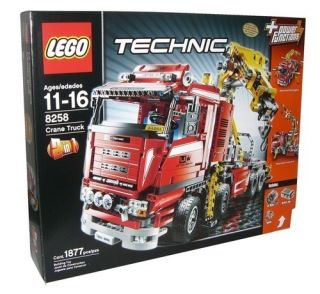 Lego Technic Crane Truck 8258 Set 1877 Piece 2 in 1 New