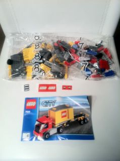 Lego City Cargo Train 7939 Cargo Truck w/ Mini figure READY TO SHIP