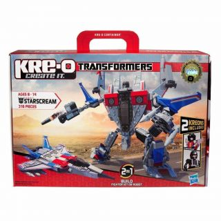 Transformers Starscream Fighter Jet / Robot 30667 works with LEGO NEW