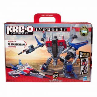 Transformers Starscream Fighter Jet / Robot 30667 works wi LEGO NEW