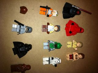 Magnetic Lego Star Wars Characters