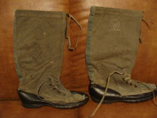 Vintage U s US Air Force Mukluk Boots Military Army