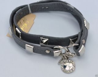 Kirks Folly Leather Wrap Bracelet