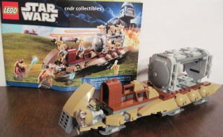 Lego Star Wars 7929 BATTLE of Naboo DROID troop CARRIER ship only NO