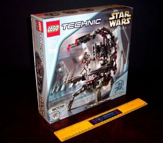 Lego 8002 Star Wars Technic Droideke Destroyer Droid Auto Opens MISB