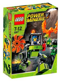 Lego Power Miners Set 8957 Mine Mech