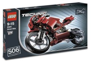 Lego Technic Street Bike 8420 Brand New SEALED Box Retired Set