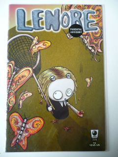 Lenore The Cute Little Dead Girl Comic 3 Roman Dirge